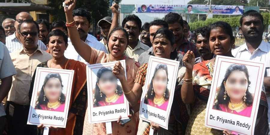 Image result for priyanka reddy rape and murder""