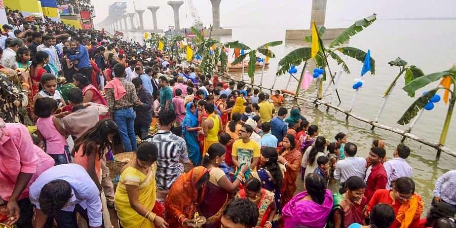 Bihar's Chhath puja festival