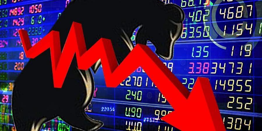 Sensex, Stocks, Share markets, Decline