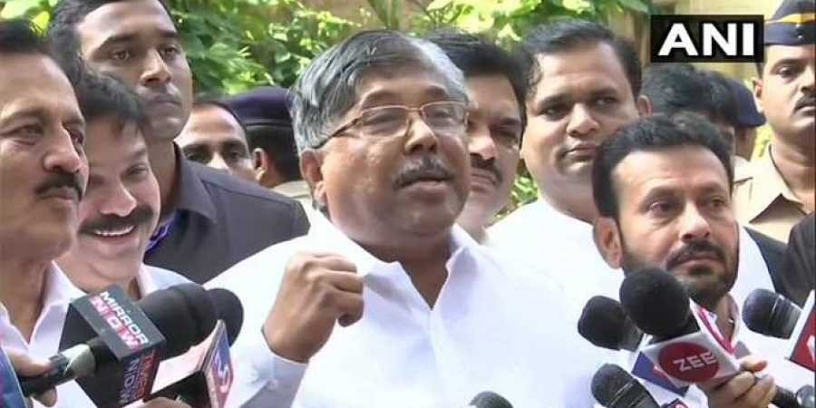 Maharashtra BJP chief Chandrakant Patil.
