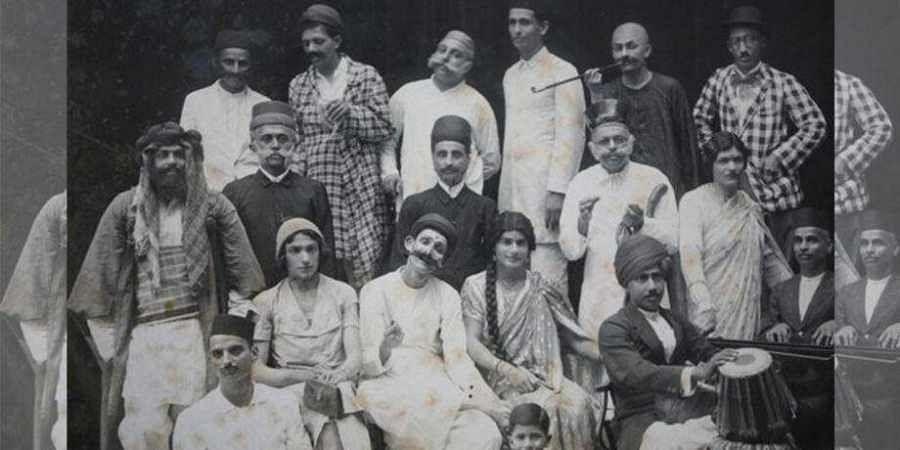 A Parsi theatre troupe