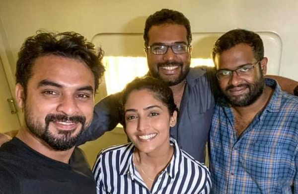 Bigil Actress Reba Monica John Cast In Tovino Thomas Forensic The New Indian Express