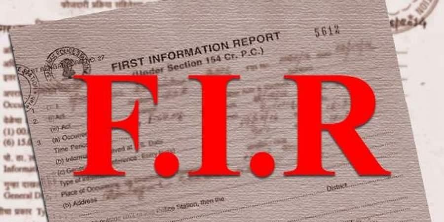 FIR, booked