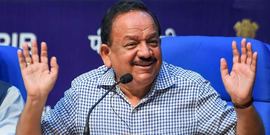 Union Health Minister Harsh Vardhan