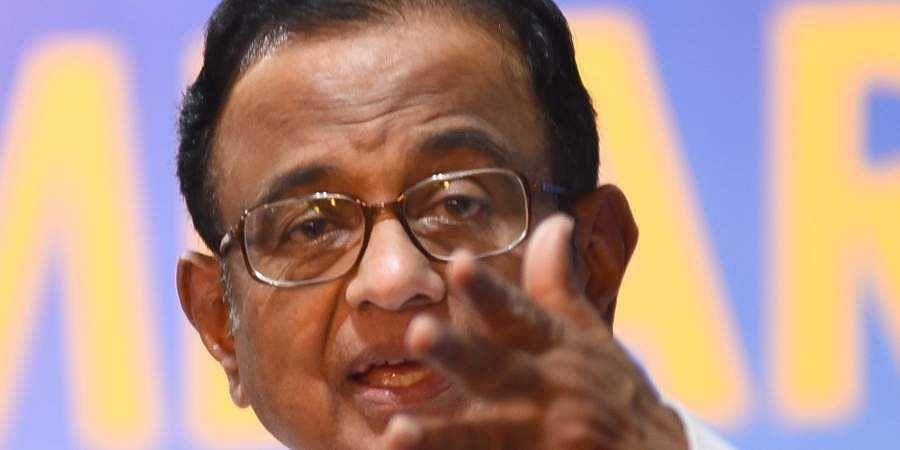 Former Finance Minister P Chidambaram