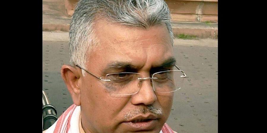 West Bengal BJP chief Dilip Ghosh (Photo   PTI)