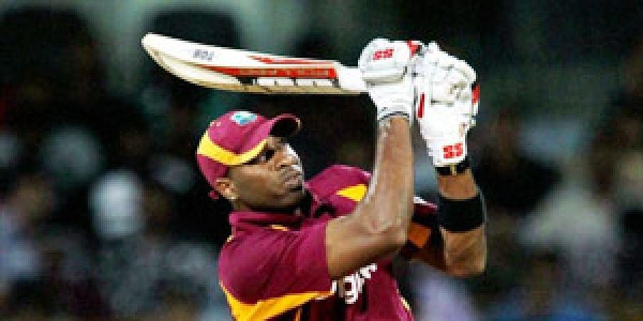 West Indies' Kieron Pollard. (Photo | PTI)