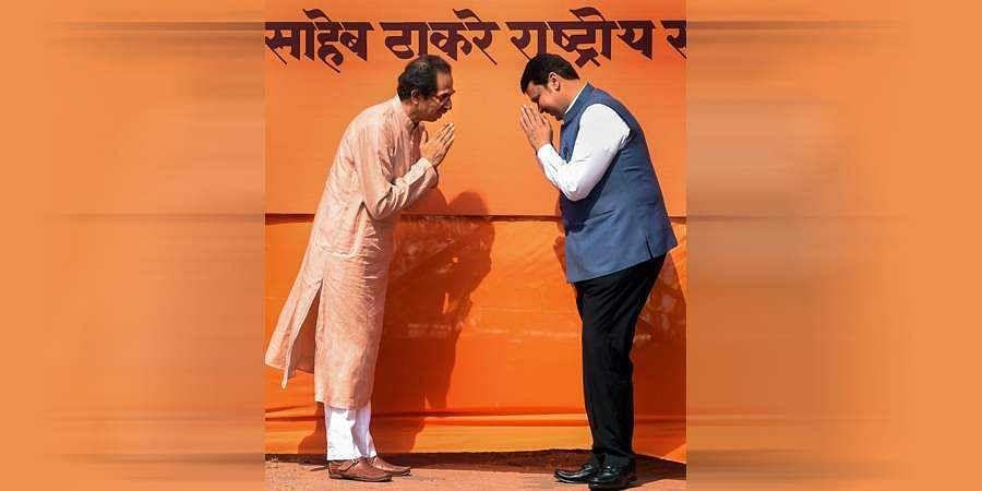 Uddhav Thackeray, fadnavis