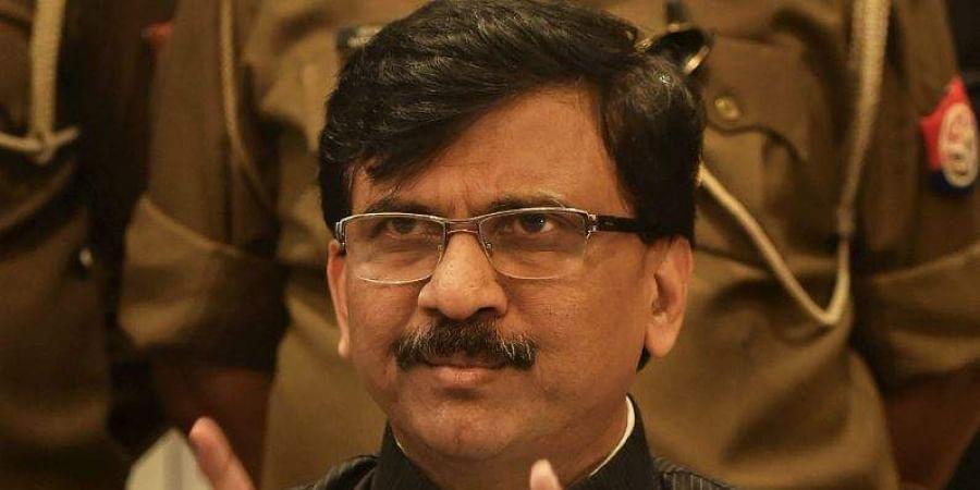 Shiv Sena leader Sanjay Raut. (