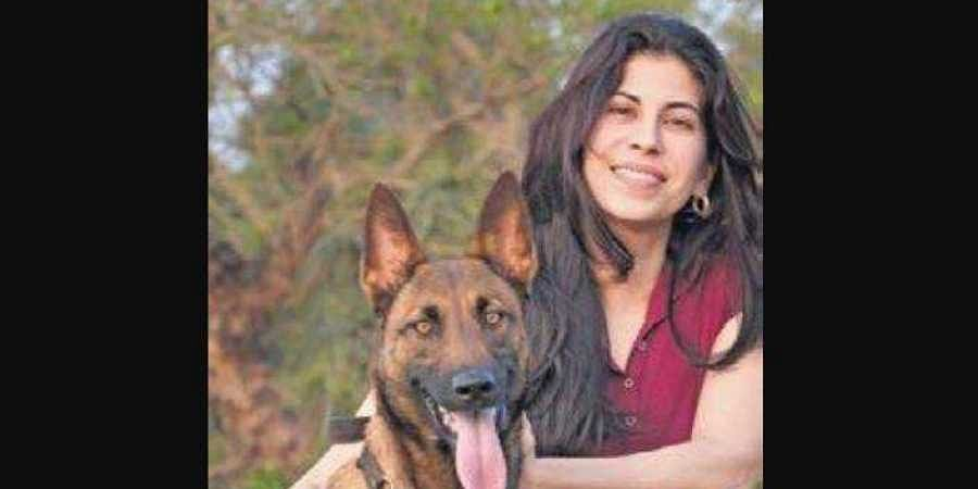 Shirin Merchant, a canine behaviourist and trainer since 1995.