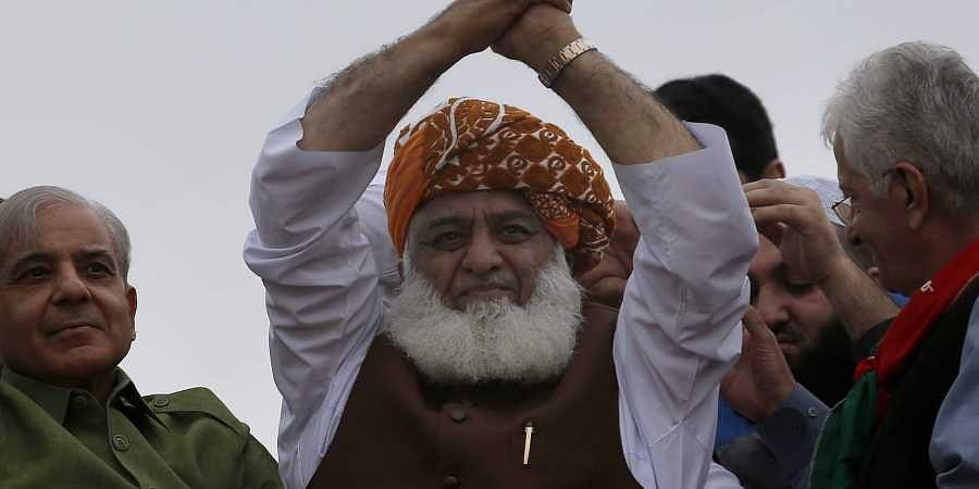 Radical cleric Maulana Fazlur Rehman. (Photo  AP)