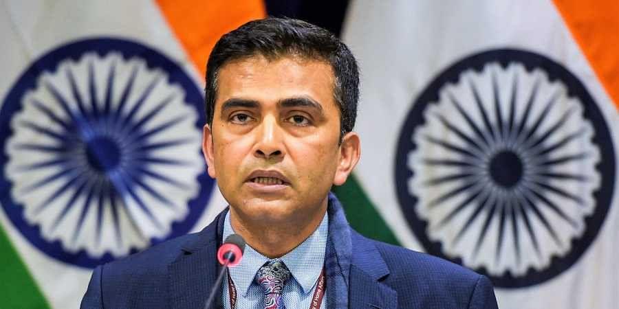 Ministry of External Affairs Spokesperson Raveesh Kumar