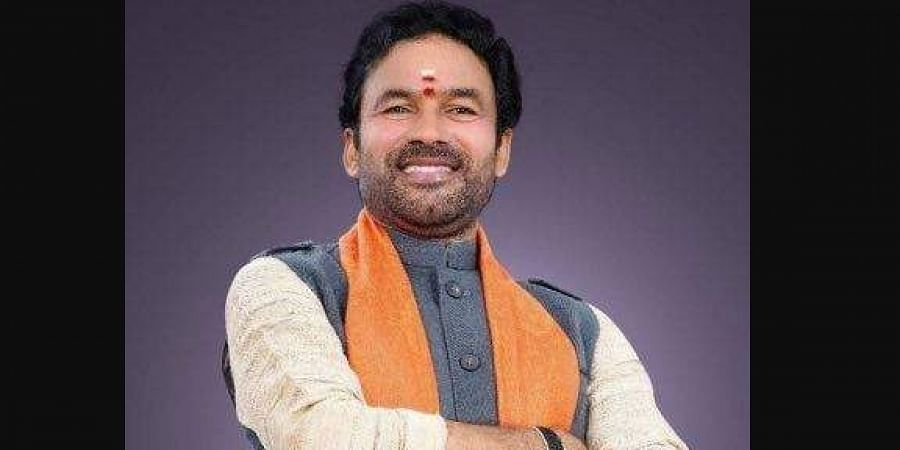 Minister of State for Home Affairs G.Kishan Reddy.
