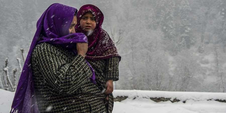 Kashmir snowfall, Indian winters