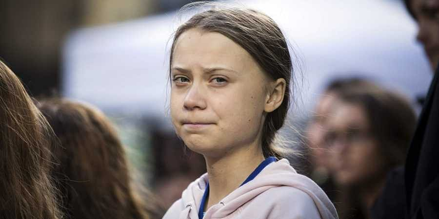 Swedish climate activist, Greta Thunberg, attends a climate rally, in Vancouver, British Columbia. (Photo | AP)