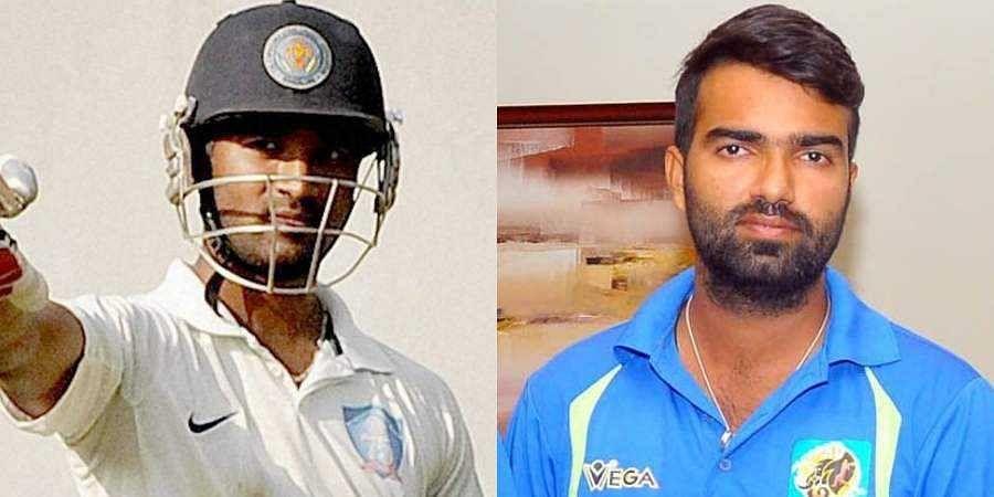 Karnataka Premier League cricketers CM Gautam and Abrar Kazi