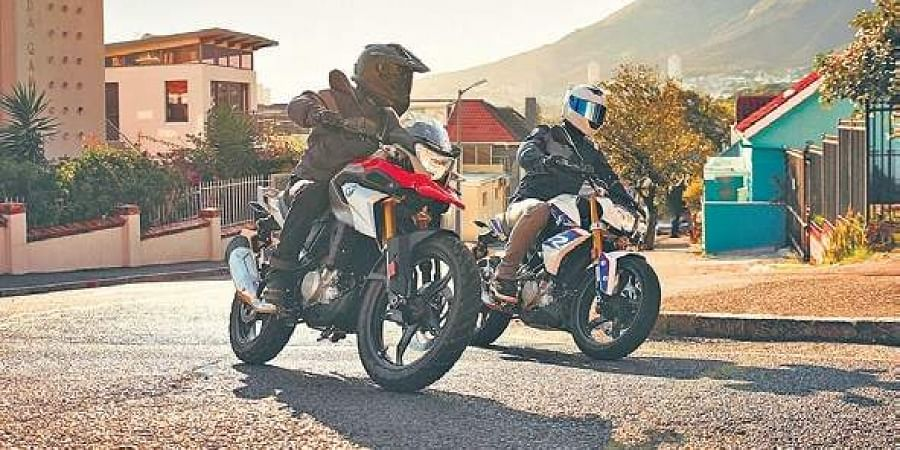 BMW G 310 motorcycles