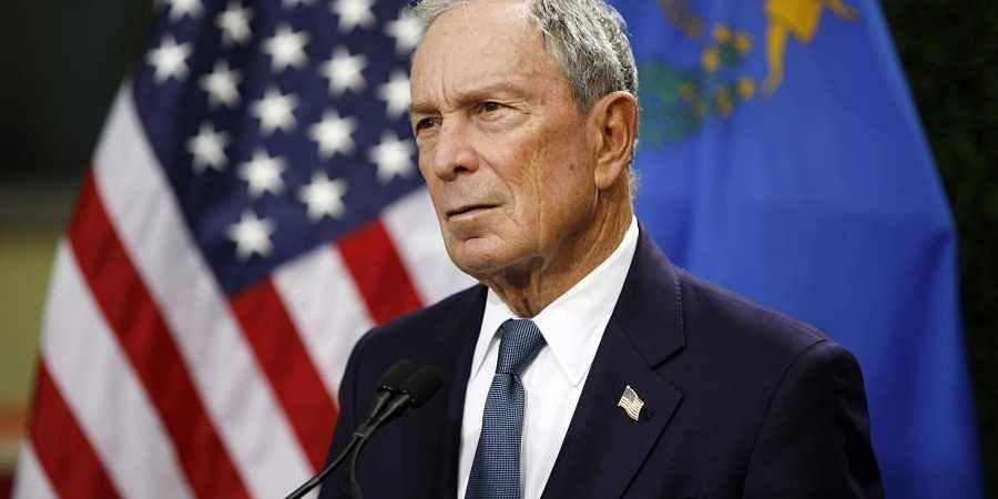 Former mayor of New York City Michael Bloomberg