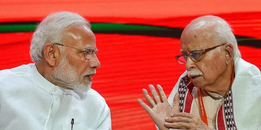 Narendra Modi and L K Advani