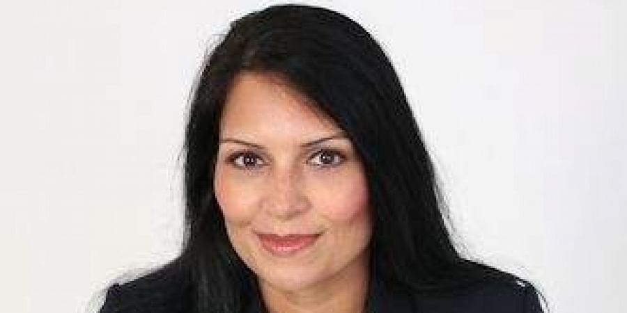 Britain's senior-most Indian-origin minister Priti Patel.(Picture from official website)