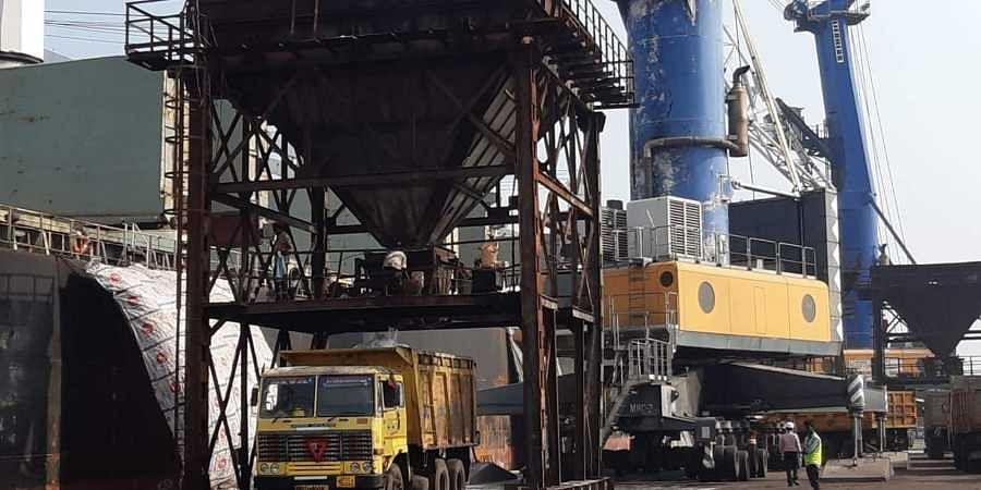 The consignment of urea was transferred from the ship to Karaikal Port's warehousesoon after arrival.