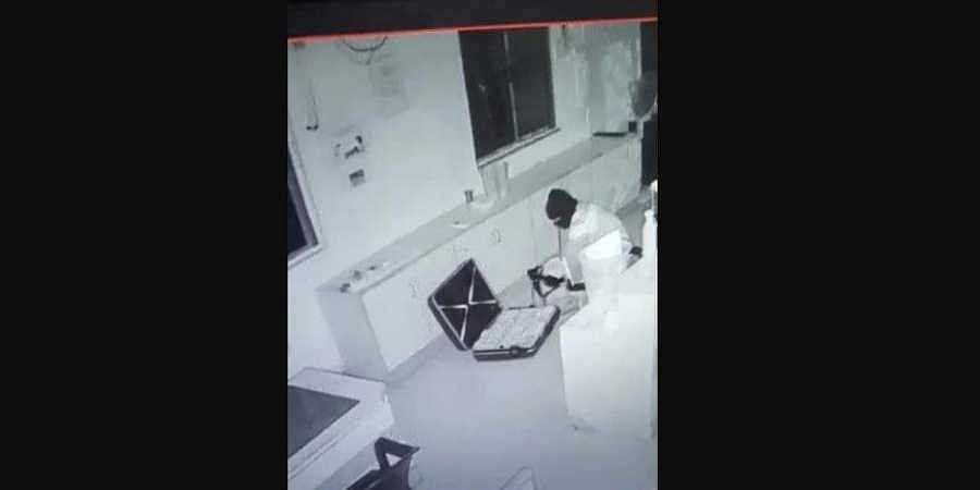 Superintendent of Police Ziaul Haque stated the preliminary investigation has revealed theburglar was familiar with the layout of the bank.