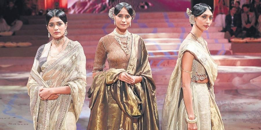 The Sindhu collection was showcased at the Indira Gandhi National Centre for the Arts, Delhi
