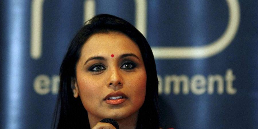Bollywood actress Rani Mukerji.