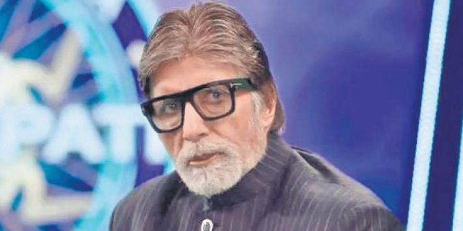 Amitabh Bachchan seen in KBC