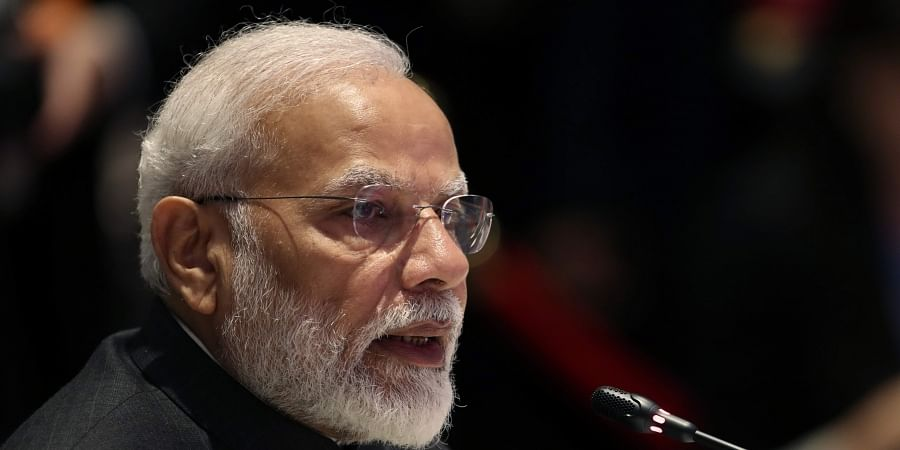 India's Prime Minister Narendra Modi speaks during The Association of Southeast Asian Nations ASEAN-India summit in Nonthaburi, Thailand, Sunday, Nov. 3, 2019.   (Photo   AP)