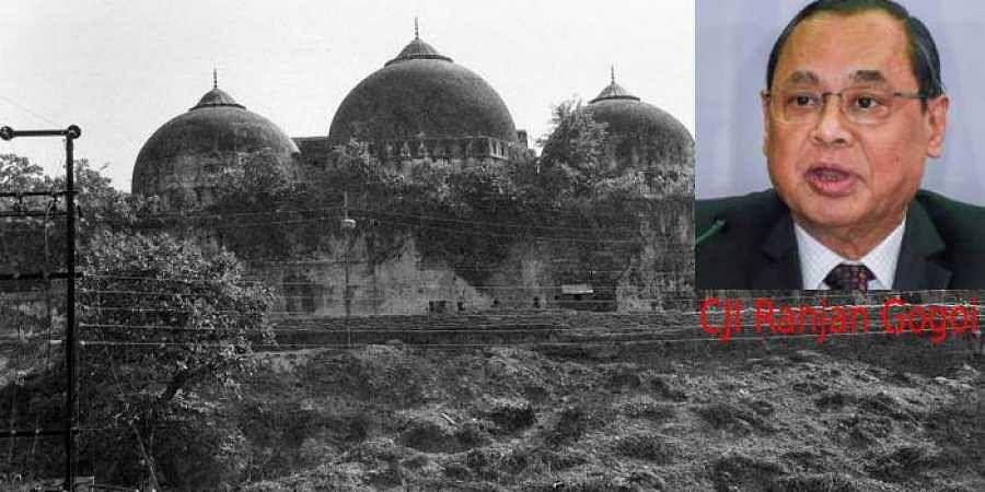File photo dated October 1990, shows Babri Masjid in Ayodhya. (Photo | PTI)