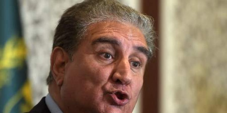 Pakistani Foreign Minister Shah Mehmood Qureshi (File Photo   AFP)