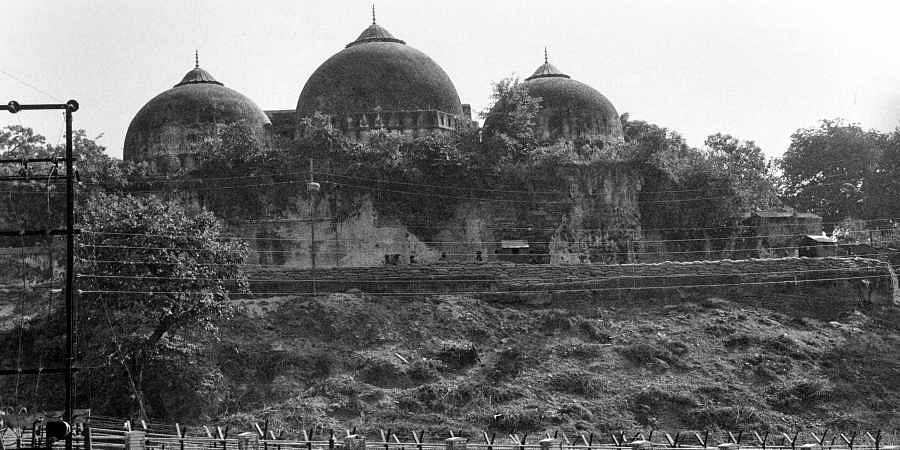 File photo of Babri Masjid in Ayodhy