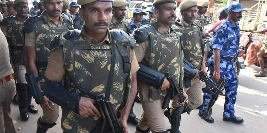 CRPF, Ayodhya security