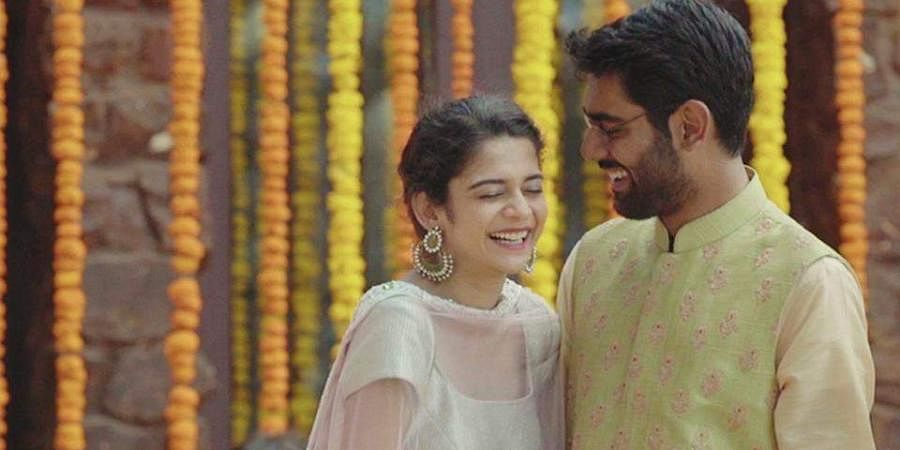 Mithila Palkar and Dhruv Sehgal in 'Little Things'.