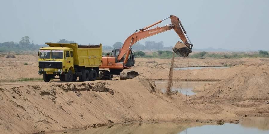 mineral exploration, sand mining