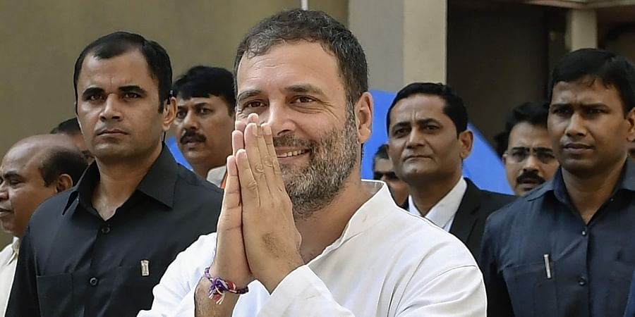 Former Congress President Rahul Gandhi arrives at District and Session Court in Surat. | (File | PTI)