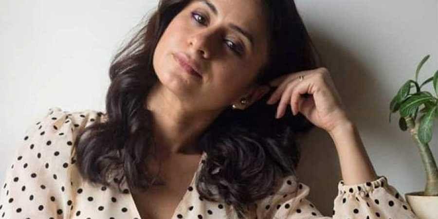 Actress Rasika Dugal