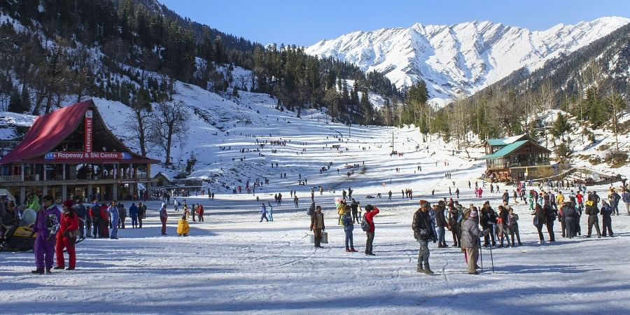 Winter chill grips north India, parts of J&K, Ladakh shiver at sub-zero  temperatures- The New Indian Express