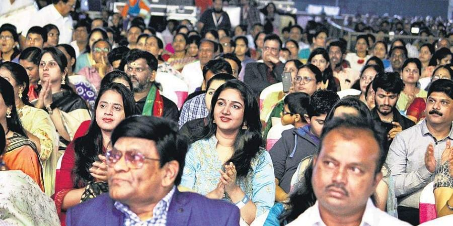 It turned out to be an evening to cherish for the thousands of music lovers.