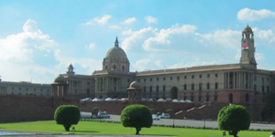 North Block housing Home Ministry