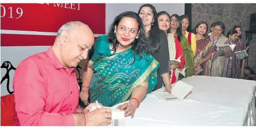 A total of 130 librarians attended The Penguin Librarian Meet in Delhi; Deputy CM Manish Sisodia was the keynote speaker for the closing event
