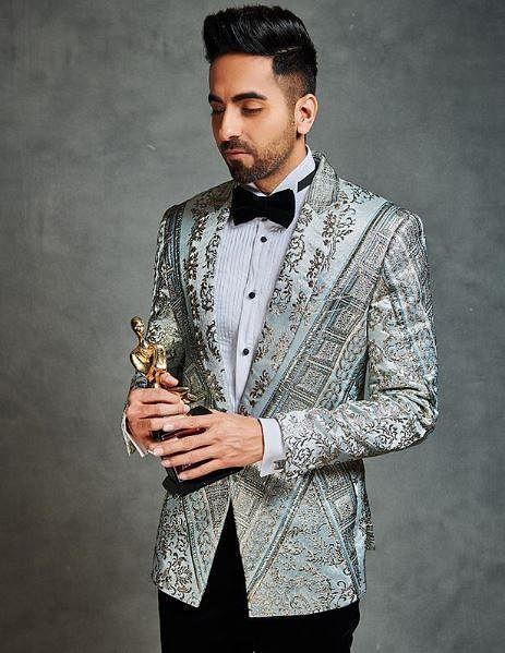 ' Ayushmann Khurrana' won the 'Best Actor Critics Choice (Male)' award.