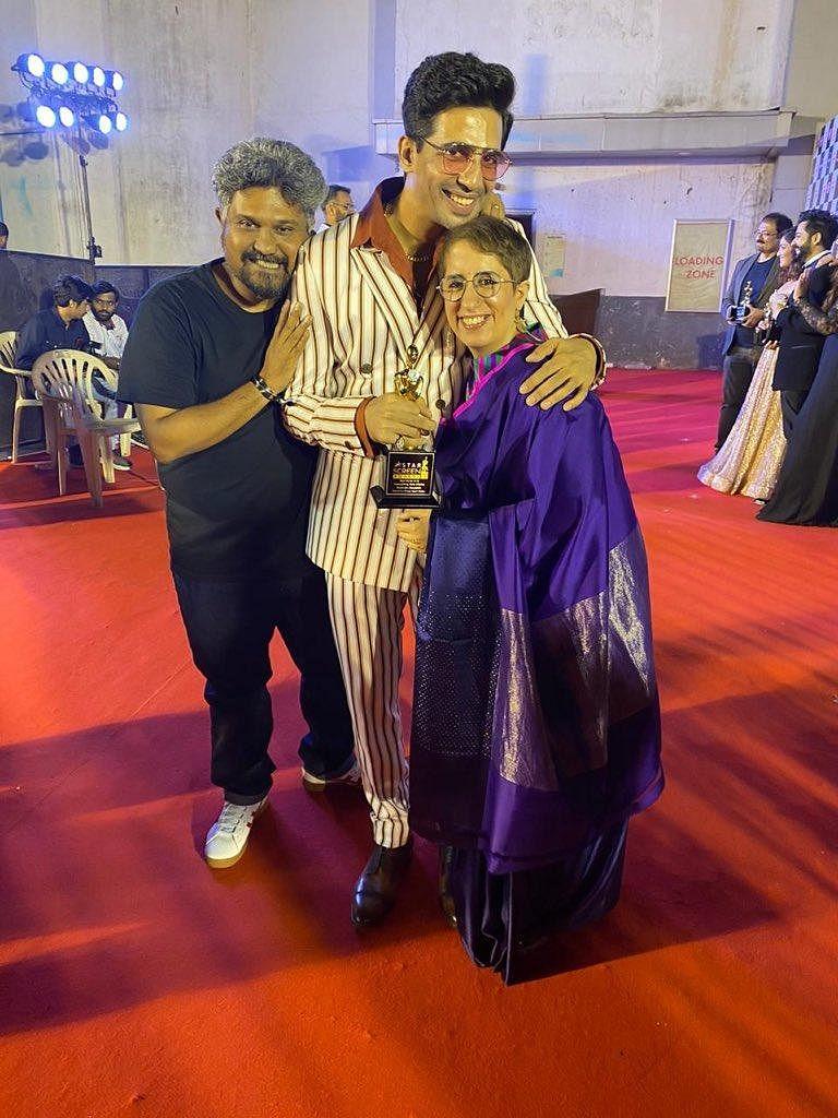 Gulshan Devaiah bagged the 'Best Supporting Actor (Male)' award  for 'Mard Ko Dard Nahi Hota'.