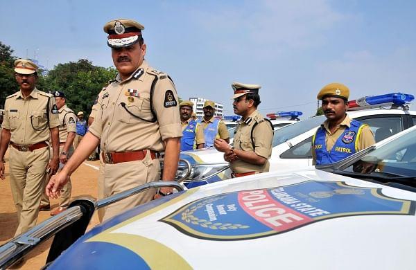 Put tech to good use:Hyderabad Police Commissioner Anjani Kumar tells patrol officers