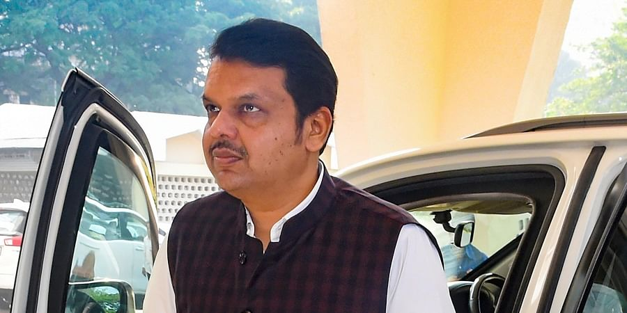 Former Maharashtra CM and opposition leader Devendra Fadnavis arrives for the Business Adivsory Committee meeting at State Vidhan Bhawan in Mumbai Tuesday Dec. 10 2019. (Photo | PTI)