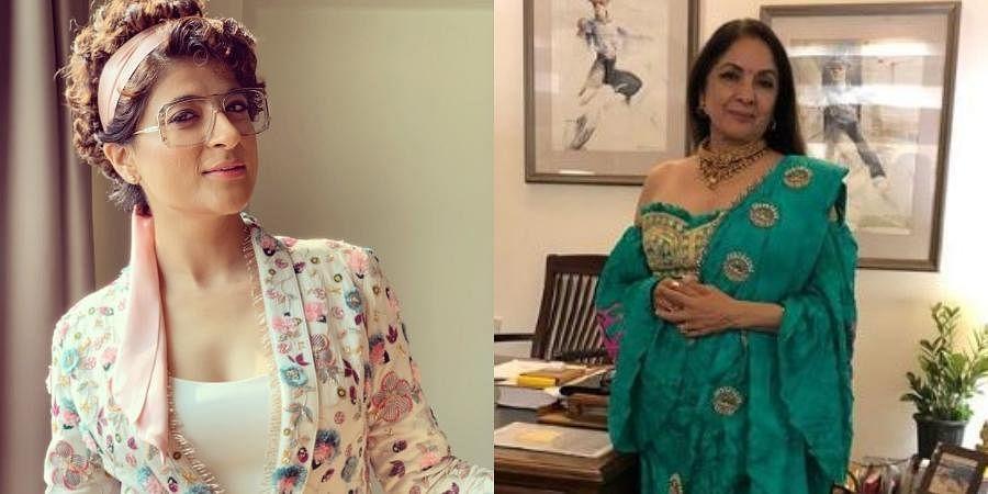 Tahira Kashyap (L) and Neena Gupta (R).