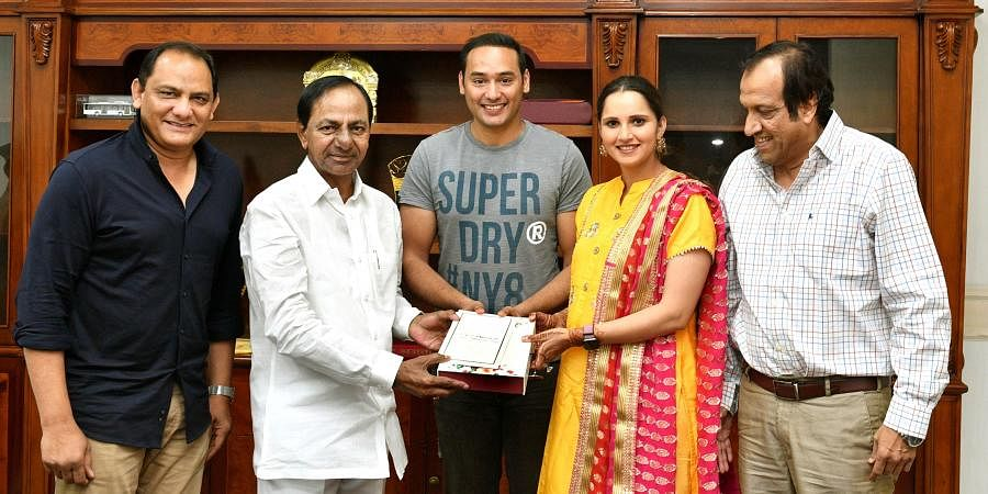 Mohammad Azharuddin's son to marry Sania Mirza's sister on December 12 in Hyderabad...