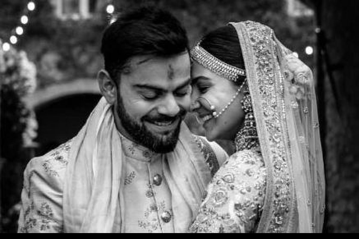 There is only love and nothing else: Virat Kohli celebrates second wedding  anniversary with Anushka- The New Indian Express