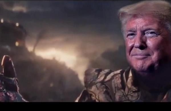 Donald Trump campaign video shows US President as Avengers super-villain Thanos